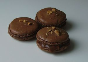 Macarons Snickers