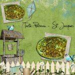 Tarte poireaux et St Jacques