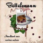Bettelmann (Mendiant aux cerises noires)