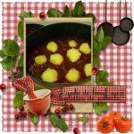 Daube de boeuf aux boulettes de polenta