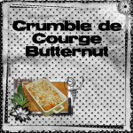 Crumble de Courge Butternut