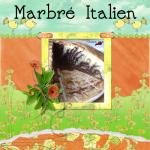 Gâteau Marbré Italien