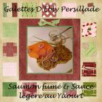 Galettes d'Ebly au Saumon fumé & Sauce</br>légère au Yaourt