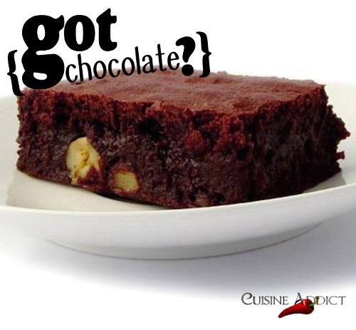 Brownie ultra gourmand Chocolat/Caramel aux Noisettes Caramélisées