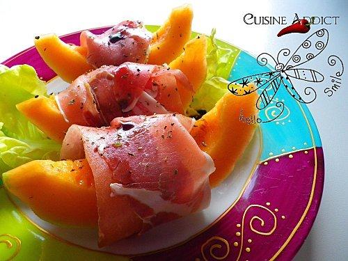 Melon A L Italienne Recette De Salade