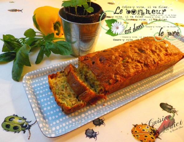 Cake du Soleil: Thon, Chorizo et Petits Légumes