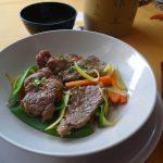Filet de Boeuf et Légumes Croquants au Wok