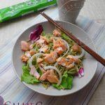 Salade au Saumon et aux Nouilles Soba