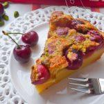 Clafoutis aux Cerises et Crème de calissons