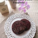 Cookies au Chocolat fourré au Cream cheese Framboise