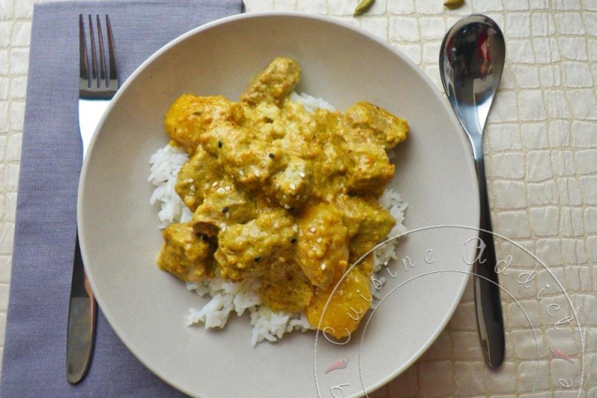 Curry de boeuf au lait de coco cuisine addict cuisine for 3d cuisine boe