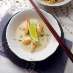 Wok de crevettes au Lait de Coco & Green curry