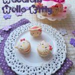 Macarons «Hello Kitty» à la Pomme d'Amour ♥