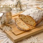 Christstollen {Pain sucré aux Fruits secs}