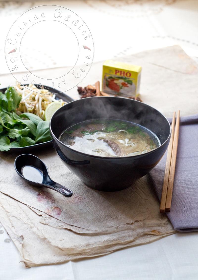 Ph b soupe vietnamienne au boeuf et nouilles de riz for Cuisine addict