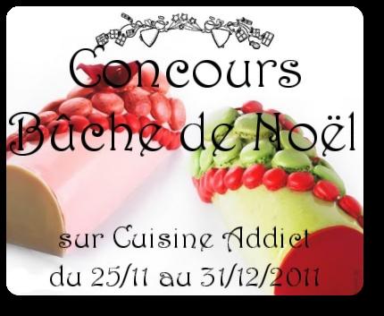 Concours Bûche de Noël 2011 ~ Les participants ~ A vos votes!!!