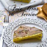 Foie Gras en Terrine {Cranberries & Abricots séchés}