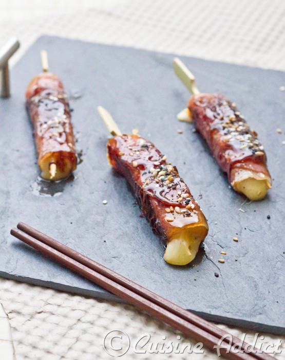 Yakitori mi japonais mi auvergnat au cantal jambon d for Auvergne cuisine