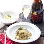 Agneau Korma & son Raïta Poire/Coriandre pour le 3ème grand concours «Champagne en cuisine!»