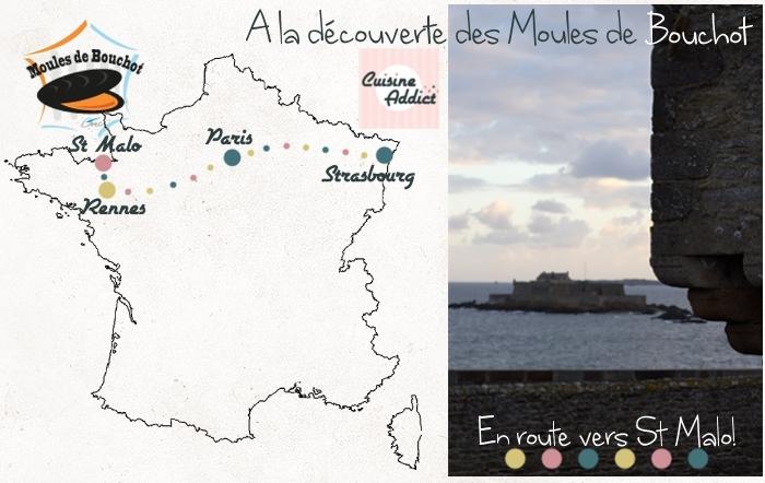 A la Découverte des Moules de Bouchot - Part. 1: En route pour St Malo!