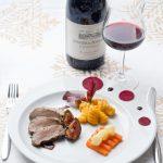 Gigondas, du blog à l'assiette: Filet de Sanglier sauce Cassis, Gnocchis au Potimarron, Carottes et Panais glacés