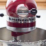 Au banc d'essai: Robot sur socle Kitchen Aid Artisan 4,8 l