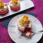 Raspberry and white Chocolate Moss