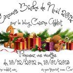Concours «Bûche de Noël 2012» ▲</br>Proposez-moi vos Bûches les plus</br>originales!