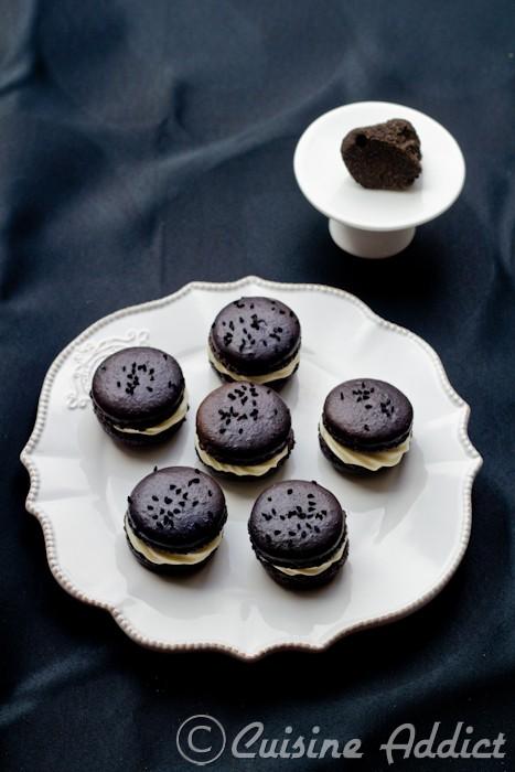 Macarons truffe