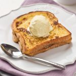 Brioche toast with caramelized Pineapple & Spices