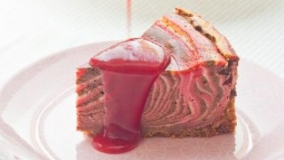 Cheesecake zébré façon Napolitain