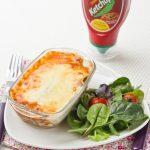Lasagnes à la Bolognaise au Ketchup