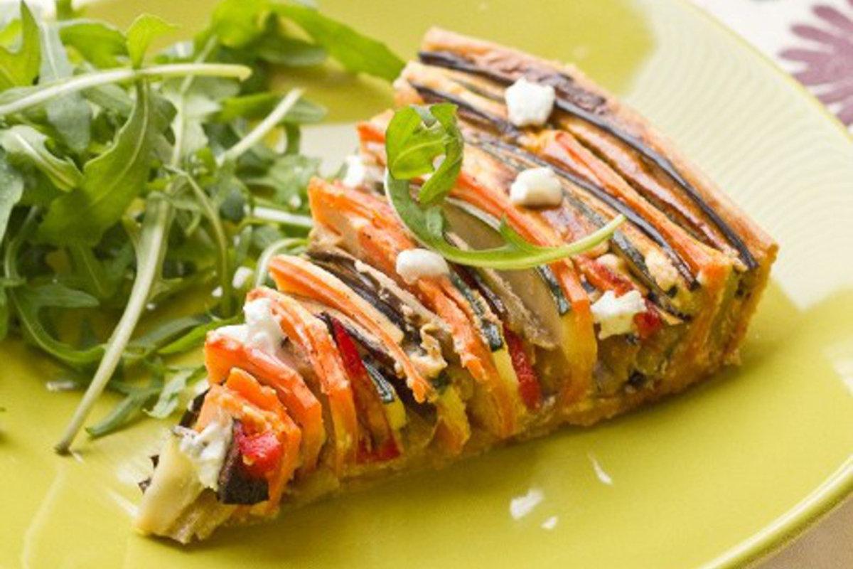 Tarte proven ale en spirale courgette aubergine poivron for Cuisine addict
