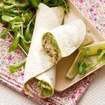 Wrap de Thon au Sésame & Avocat