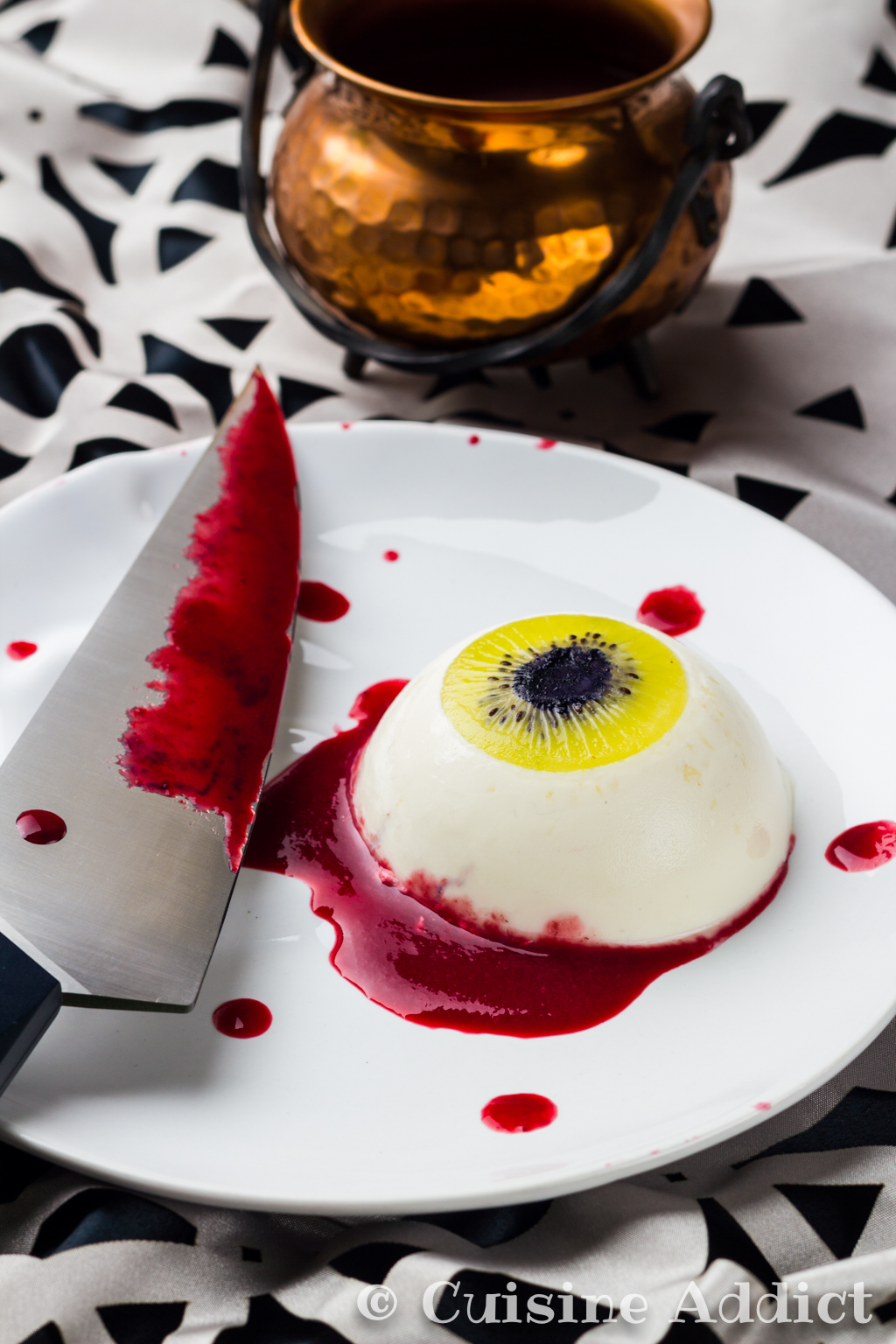 Bloody Coconut eye {Coconut & White Chocolate Panna Cotta} - Cuisine ...