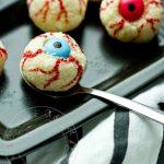 Petits yeux Noix de Coco & Noisette à gober {Rafaello Maison déguisés pour Halloween!!}