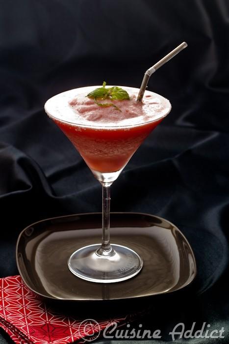 Marguarita aux fraises