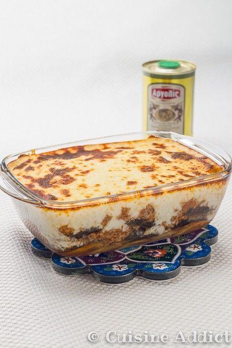 Recette moussaka grecque cuisine grecque for Cuisine grecque