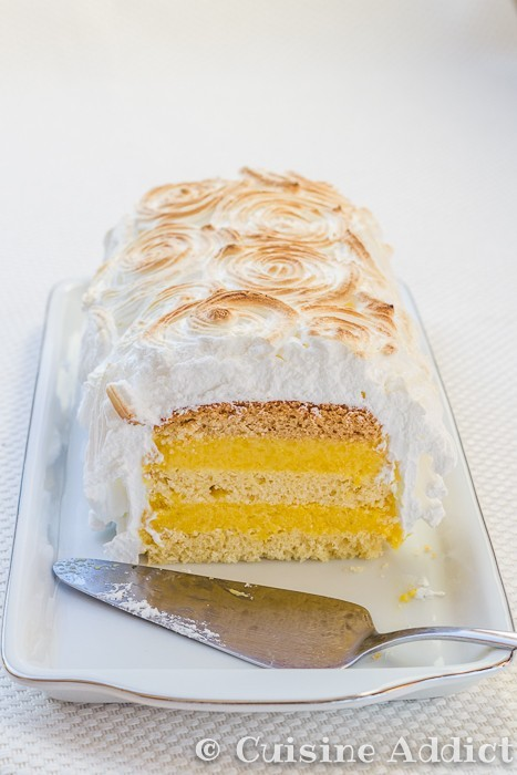 Meringue Italienne Pour Layer Cake
