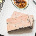 Foie gras poché au Vin Rouge & aux Epices