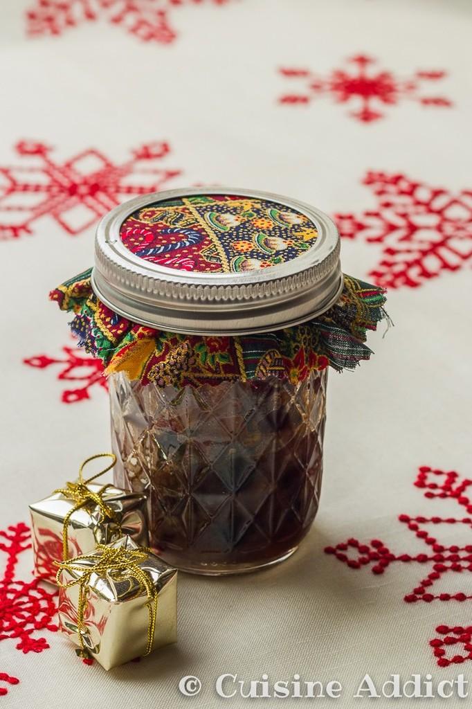 Mincemeat aux Cranberries