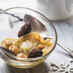 Ravioles au Foie gras & Morilles