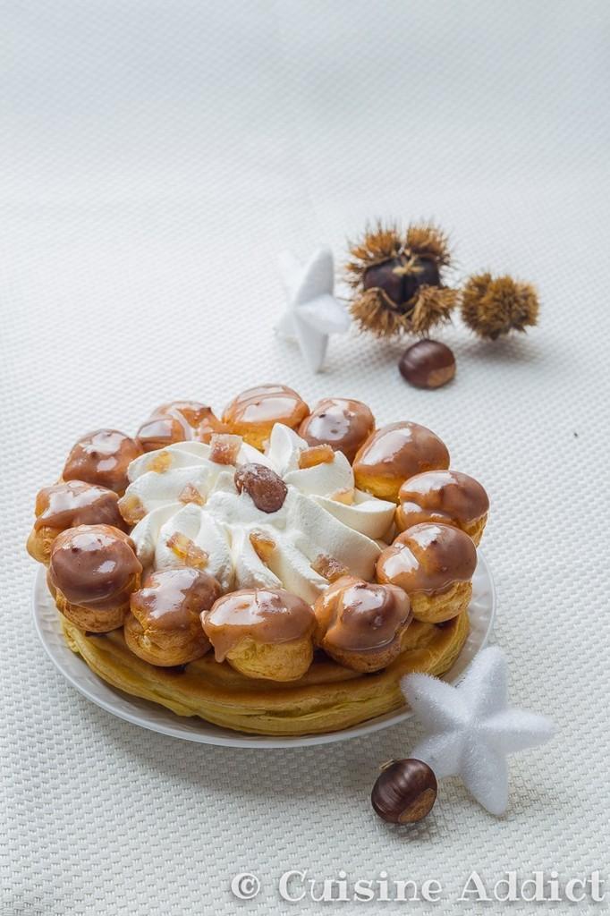 St Honoré aux Marrons & Kirsch