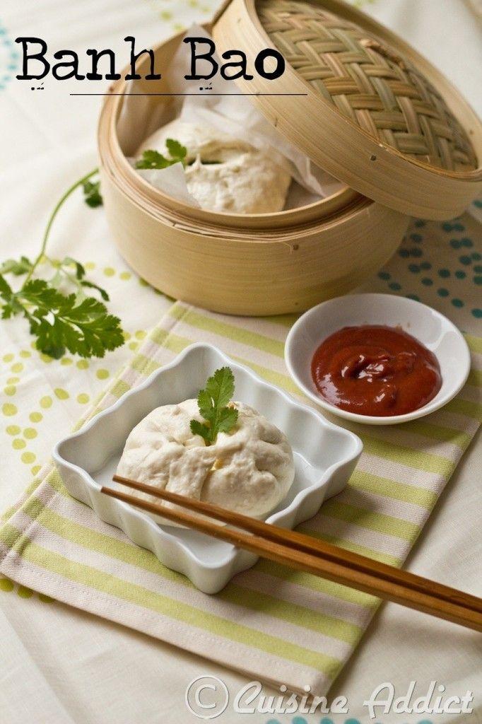 Banh Bao </br>{Brioches vapeur Vietnamiennes farcies au Porc}