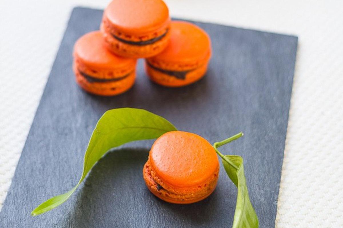 Macarons Clémentine Corse & Chocolat