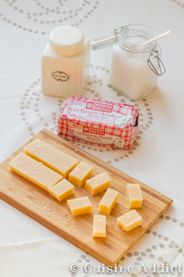 Caramels mous au beurre sal cuisine addict for Cuisine addict