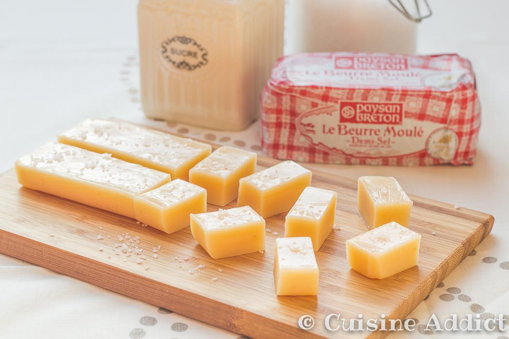 caramels mous au beurre sal recette de confiseries. Black Bedroom Furniture Sets. Home Design Ideas