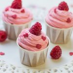 Cupcakes Framboise, girly et délicieux!
