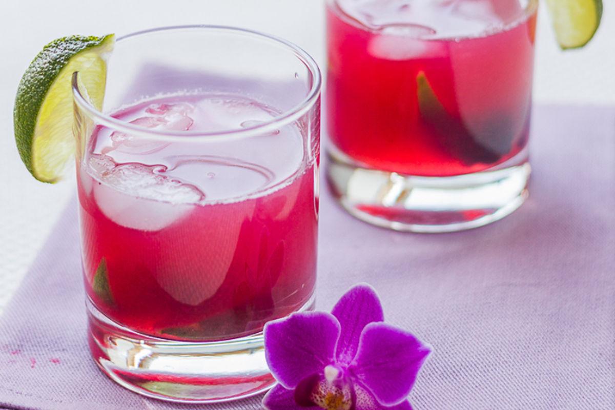 Rosé à la mûre