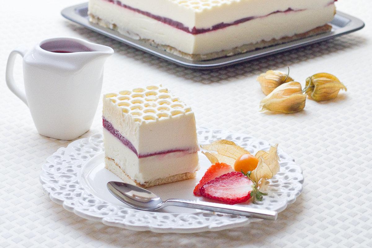 Crémeux Yaourt, Chocolat blanc, Sabayon</br>Mascarpone &#038; Framboise gélifiée